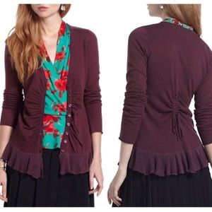 Rosie Neira Button Trail Cardigan Sz S ::NN15